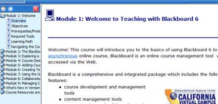 Intro to Blackboard 6