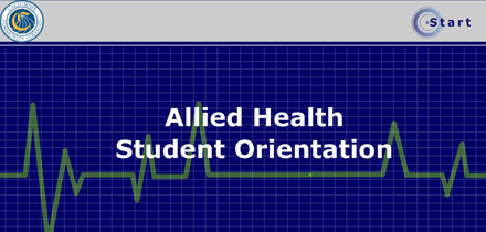 Allied Health Student Orientation